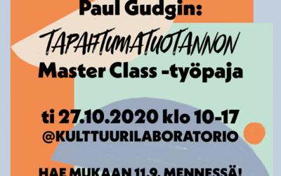 Hae mukaan Oulussa järjestettävään tapahtumatuotannon Master Class -työpajaan