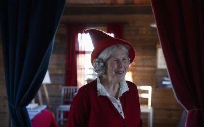 Meet Hailuoto's very own Mrs Santa