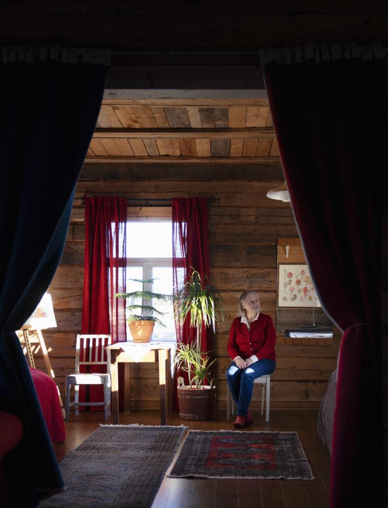 Joulumuori kodissaan Hailuodossa