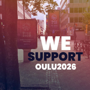 We Support Oulu2026