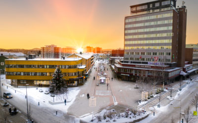 We support Oulu: Boden, Sweden