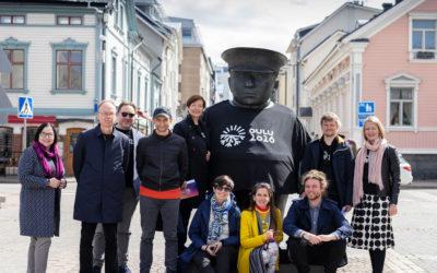 PotnaPekalla Pikisaareen, pyöräilyä kulttuurikohteissa ja Huutajien privaattikonsertti – Kansainvälinen valintaraati vieraili Oulussa torstaina