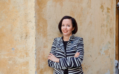 """In Oulu, we dare to think in a new way,"""" Member of the Board of the Oulu Cultural Foundation, Emilie Gardberg"""
